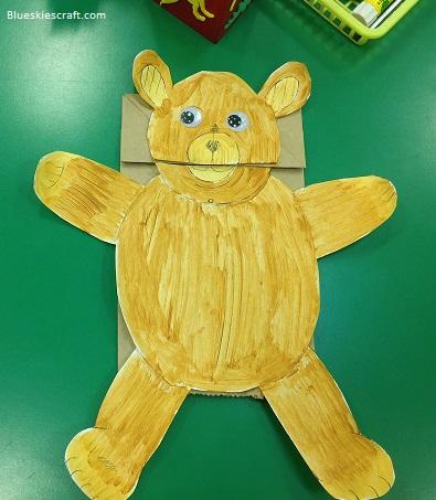 Paper Bag Bear